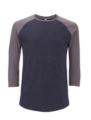 Unisex Recycled Baseball T-Shirt