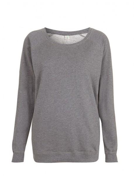 Sweatshirt Pullover Ladies Bio Raglan