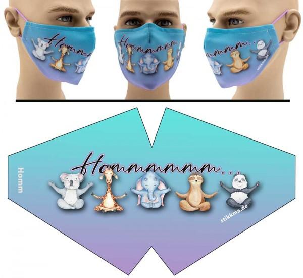 Hommm - Face Pad Premium - Mund Nasen Behelfsmaske