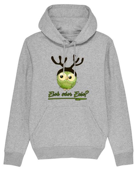 Hoodie Elch oder Eule