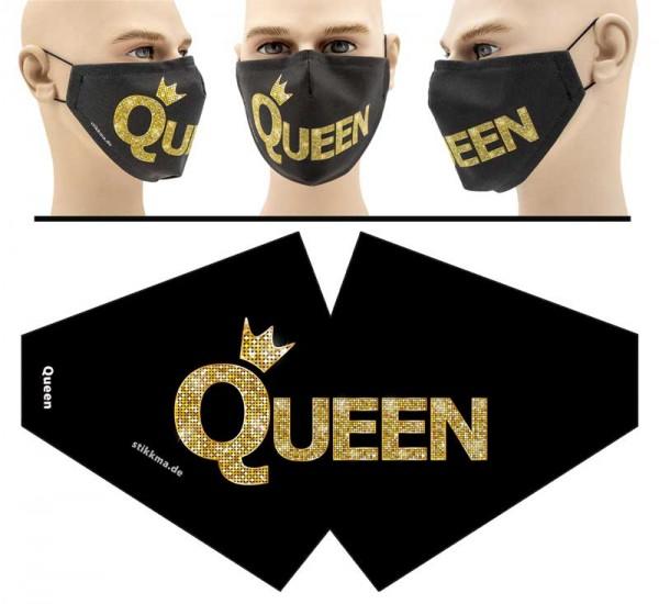 Queen 2 - Face Pad Premium - Mund Nasen Behelfsmaske