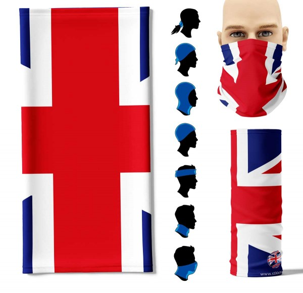 Multifunktionstuch Great Britain Face Pad+