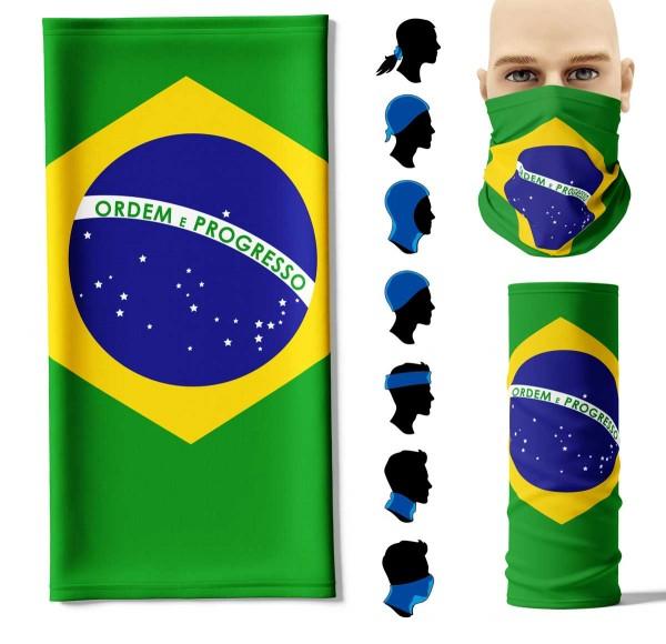 Multifunktionstuch Brasilien Face Pad+