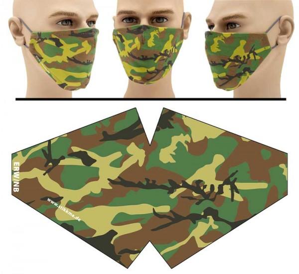 Camo - Face Pad Premium - Mund Nasen Behelfsmaske