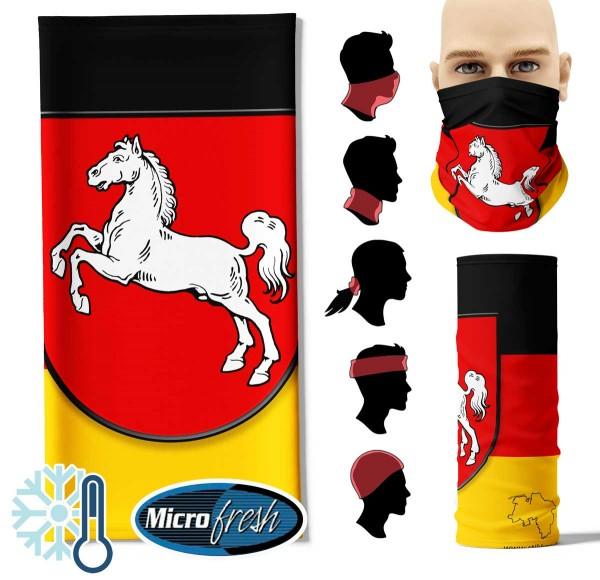"Multifunktionstuch ""Niedersachsen Flag"" Face Pad++"