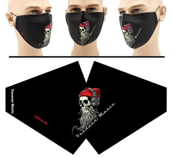 Forever Music - Face Pad Premium - Mund Nasen Behelfsmaske