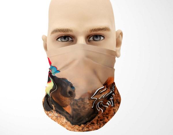 Multifunktionstuch Face Pad+ Sunny Day Mund- Nasen- Behelfsmaske Gesichtsmaske