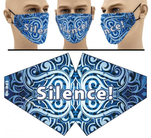 Silence - Face Pad Premium - Mund Nasen Behelfsmaske