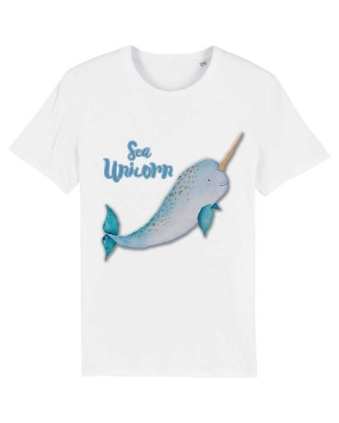 Bio T-Shirt Meer Einhorn