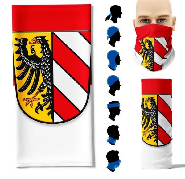 """Multifunktionstuch """"Nürnberg"""" Face Pad+"""