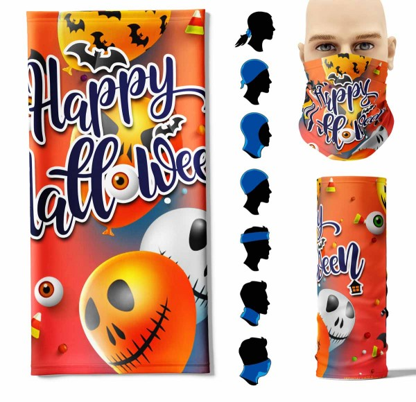 "Multifunktionstuch ""Happy Halloween 2"" Face Pad+-"