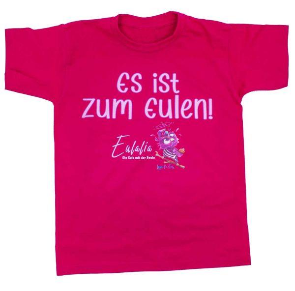 T-Shirt Motiv: Eule Eulalia