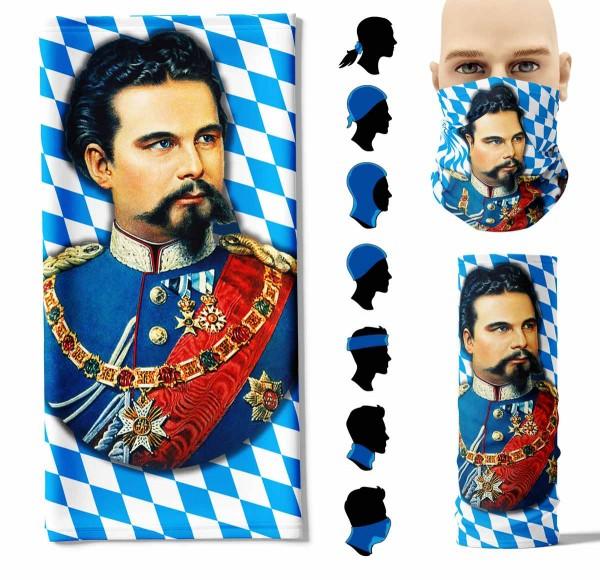 Multifunktionstuch König Ludwig Full Size Face Pad+