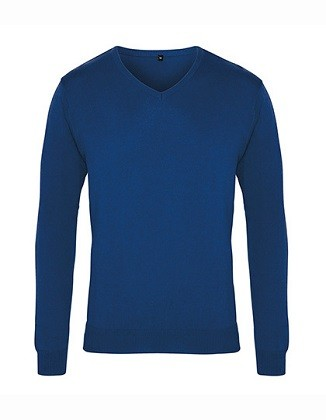 Men's V-Neck Knitted Sweater