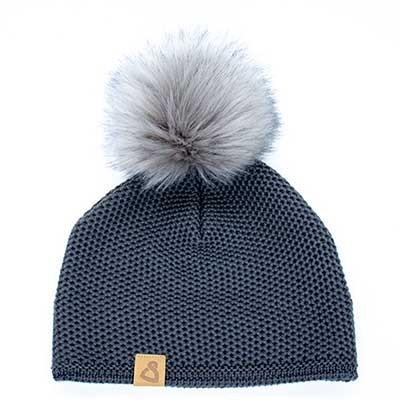 Wollmütze Frisco Uni Grau