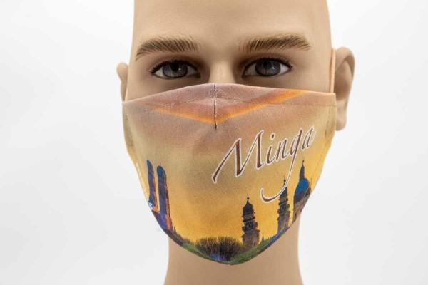 Minga - Face Pad Premium - Mund Nasen Behelfsmaske