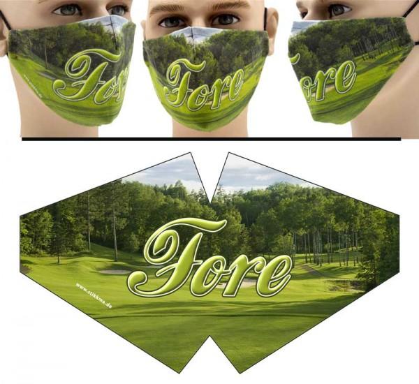 Fore - Face Pad Premium - Mund Nasen Behelfsmaske