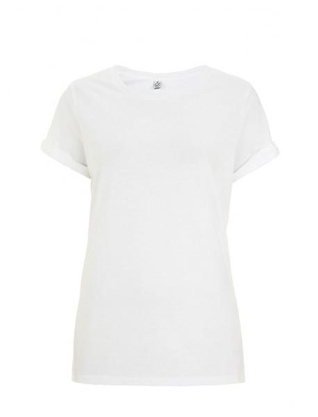 T-Shirt Ladies Bio Rollärmel