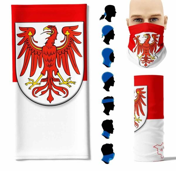 "Multifunktionstuch ""Brandenburg Flagge"" Face Pad+"