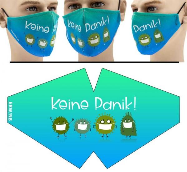 Keine Panik - Face Pad Premium - Mund Nasen Behelfsmaske