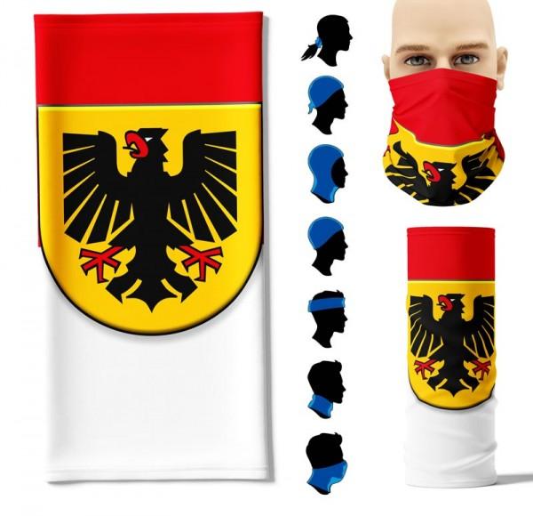 """Multifunktionstuch """"Dortmund"""" Face Pad+"""