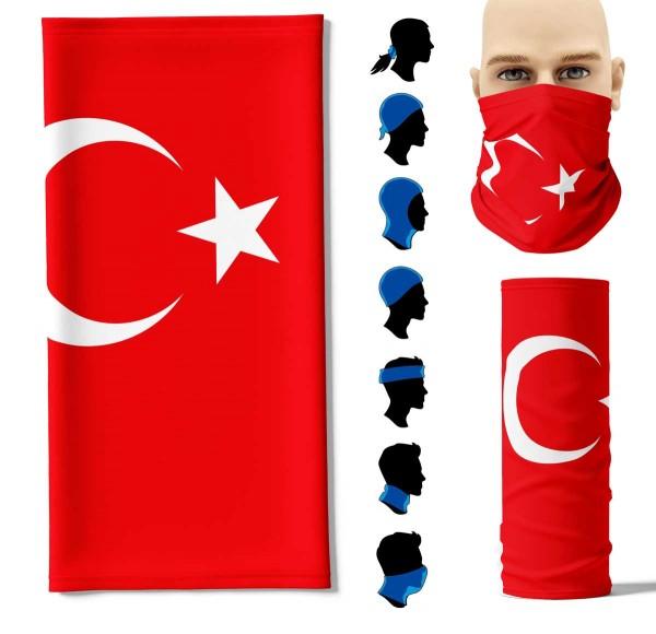 Multifunktionstuch Türkei Face Pad+