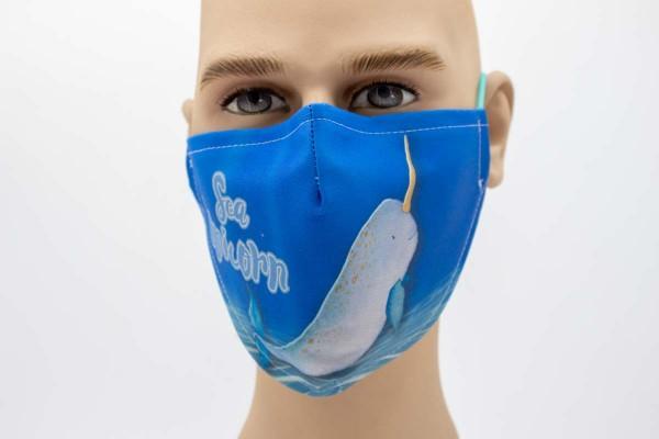 Gesichtsmaske Face Pad Meer Einhorn Mund- Nasen- Behelfsmaske