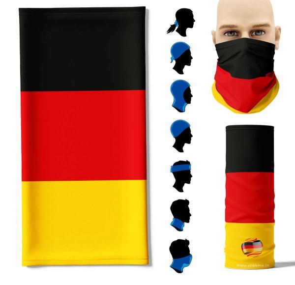 Multifunktionstuch Deutschland Face Pad+