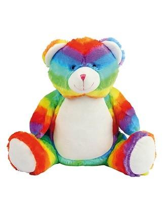 Kuscheltier Regenbogenbär 42cm