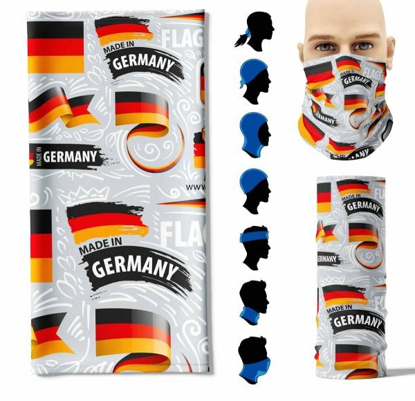 Multifunktionstuch Deutschland kreativ Face Pad+