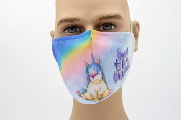Gesichtsmaske Face Pad süßes Einhorn Mund- Nasen- Behelfsmaske