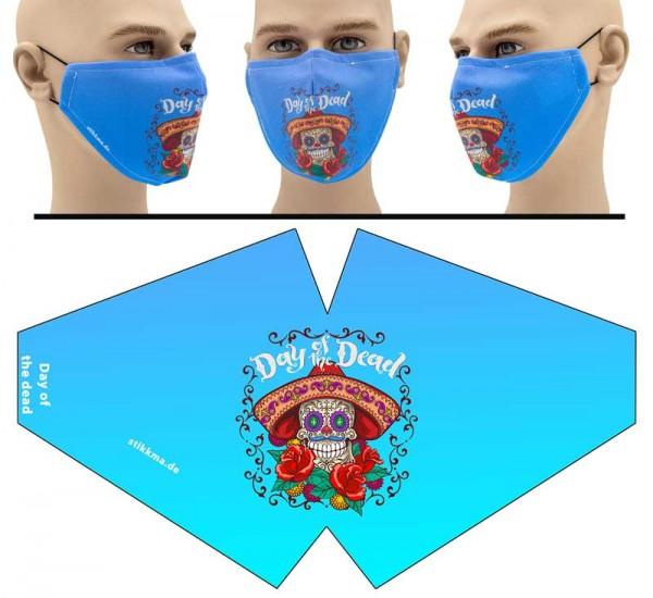 Day of the Dead - Face Pad Premium - Mund Nasen Behelfsmaske