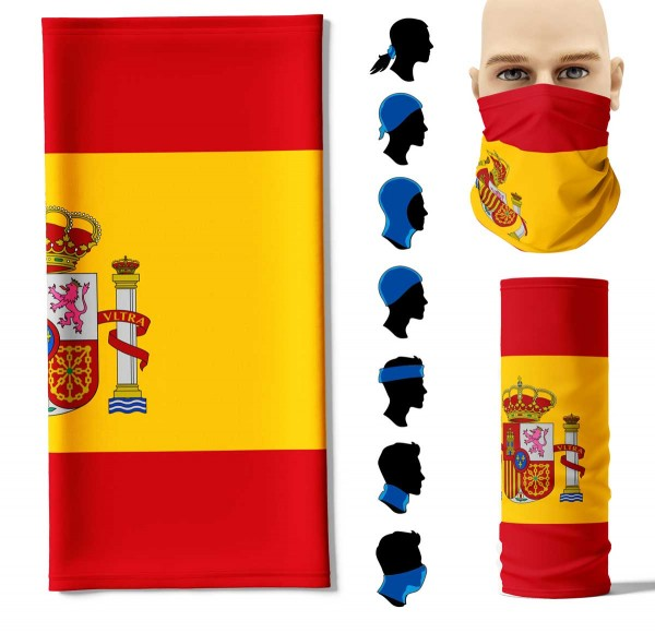 Multifunktionstuch Spanien Face Pad+