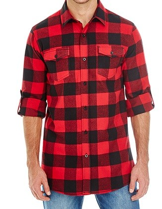 Hemd Woven Plaid Flannel