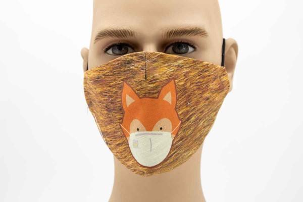 Fuchs Kids - Face Pad Premium - Mund- Nasen. Behelfsmaske