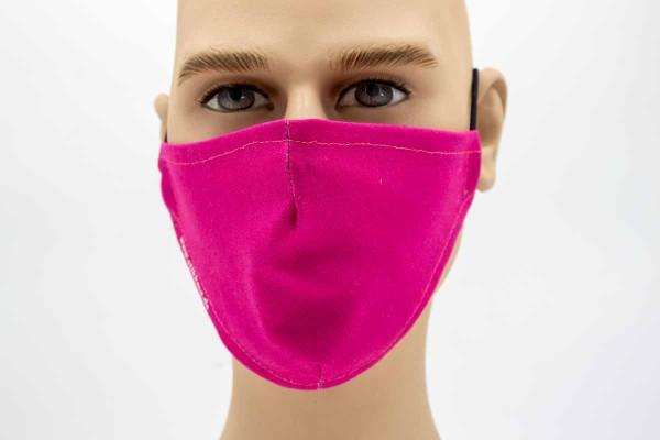 Gesichtsmaske - Face Pad Pink Mund- Nasen. Behelfsmaske