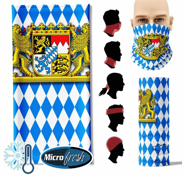 "Multifunktionstuch ""Bayern Flag"" Face Pad++"