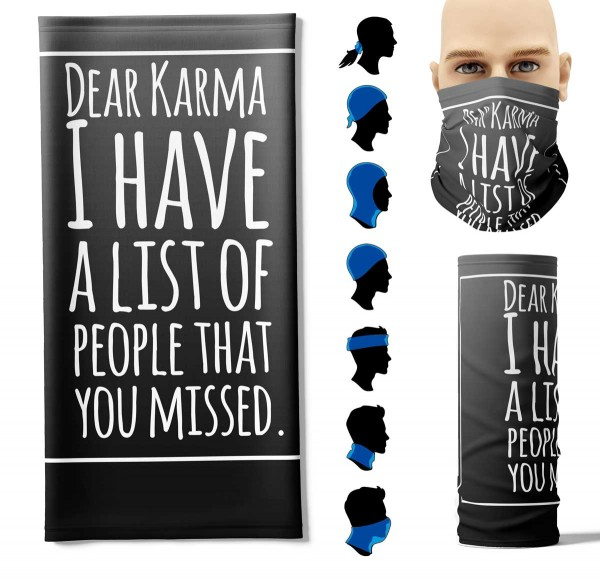Multifunktionstuch Karma Face Pad+