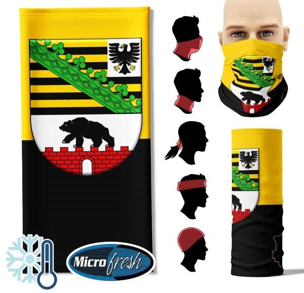 "Multifunktionstuch ""Sachsen-Anhalt Flag"" Face Pad++-"