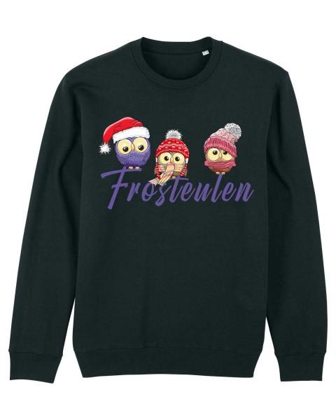 Unisex Bio Sweatshirt Frosteulen