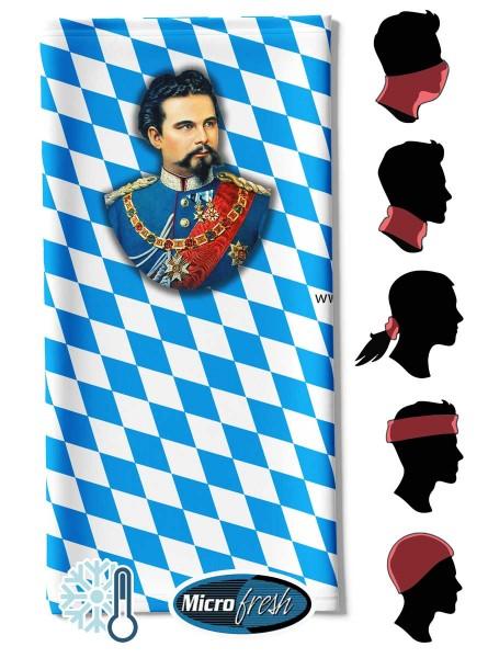 """Multifunktionstuch Face Pad++ """"König Ludwig"""""""