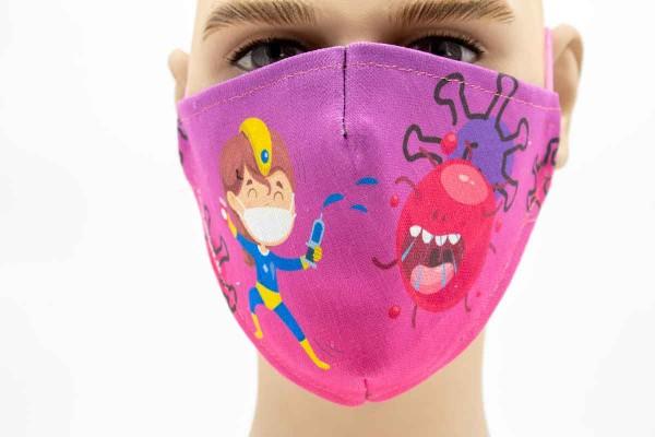 Kids - Face Pad Premium - Mund- Nasen. Behelfsmaske