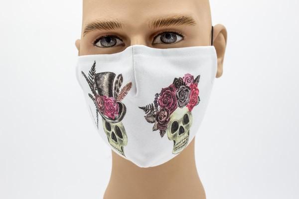 Gesichtsmaske Face Pad Till Death Mund- Nasen. Behelfsmaske