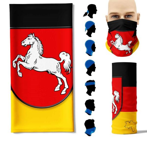 "Multifunktionstuch ""Niedersachsen Flagge"" Face Pad"