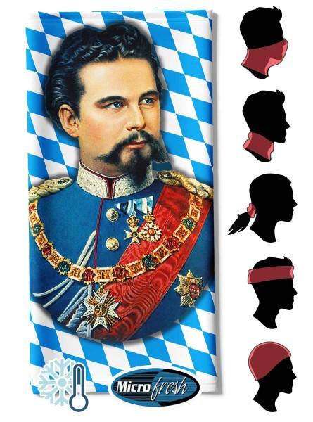 """Multifunktionstuch Face Pad++ """"König Ludwig Fullsize"""""""