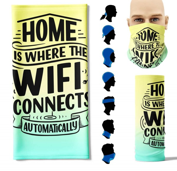 Multifunktionstuch + Home Face Pad