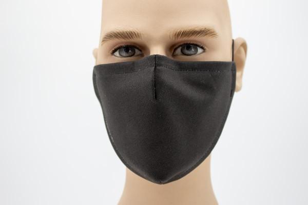Gesichtsmaske Face Pad Black Mund- Nasen- Behelfsmaske