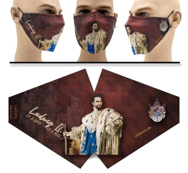 König Ludwig Spezial - Face Pad - Mund Nasen Behelfsmaske