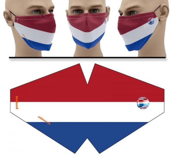 Holland - Face Pad Premium - Mund Nasen Behelfsmaske