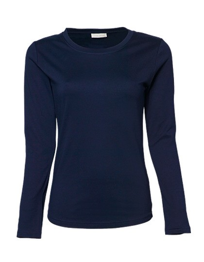 T-Shirt Ladies Long Sleeve Interlock Tee
